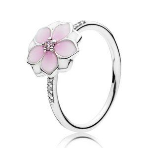 🍓Pandora Magnolia Bloom Ring